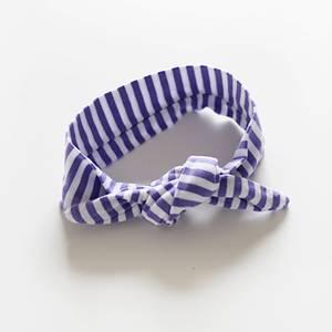 Bilde av Hårbånd med knute Candy Lilla (Liten)