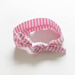 Bilde av Hårbånd med knute Candy Lyse Rosa (Liten)