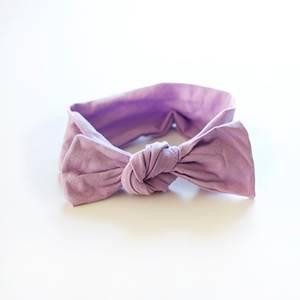 Bilde av Hårbånd med knute Edition LyseLilla